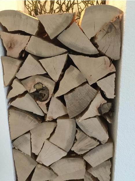 Deko-Holzscheite