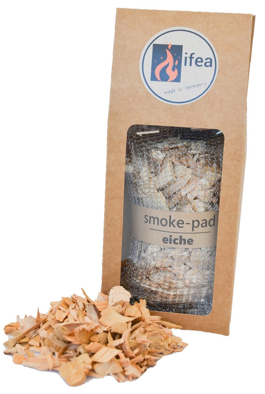 smoke-pad eiche