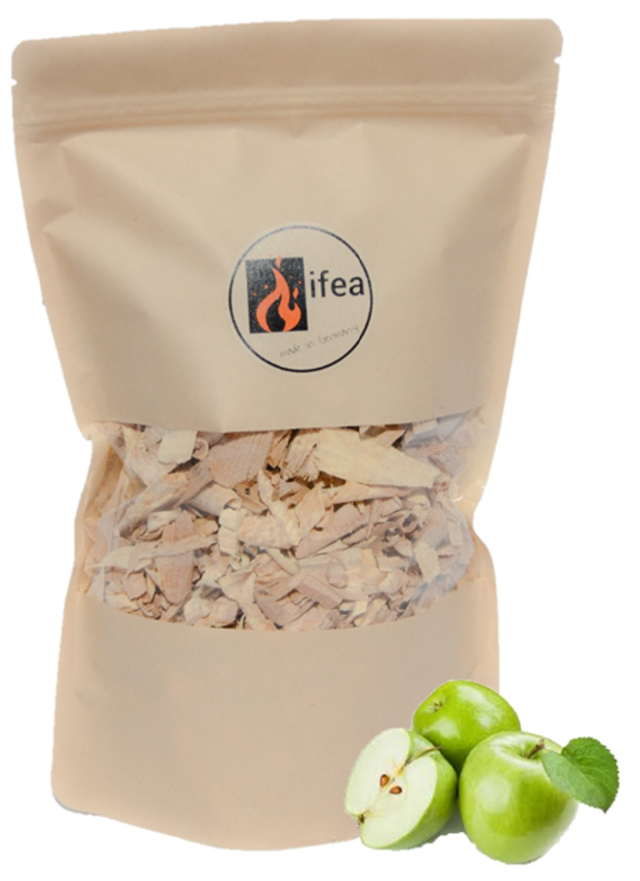 Räucherchips Apfel - Premium - 1,5l